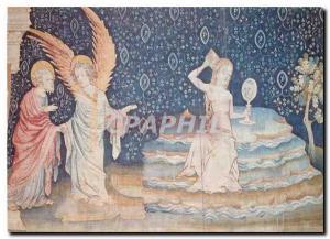 Modern Postcard Chateau d'Angers Maine et Loire Apocalypse Tapestry
