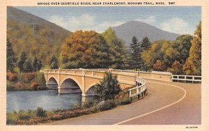 Bridge over Deerfield River in Mohawk Trail, MA Near Charlemont.