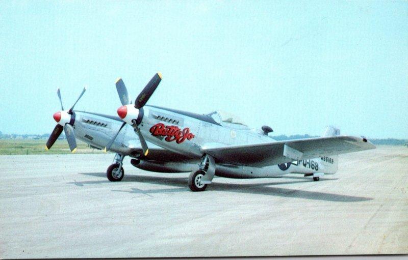 North American F-82B Twin Mustang Betty Jo