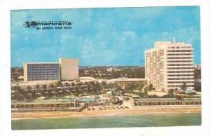 Hotel of the Americana, Bal Harbour,Miami Beach, Florida 1950-70s