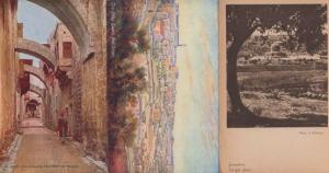 Jerusalem The Way Of Tears 3x Postcard s