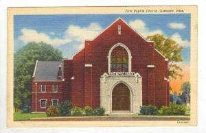 First Baptist Church, Grenada, Mississippi, 1930-40s