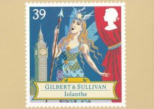 Gilbert & Sullivan Iolanthe Opera Rare Postcard