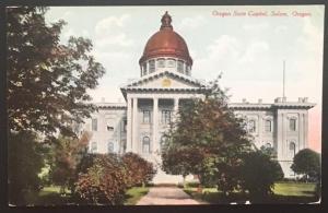 Oregon State Capitol Salem Oregon Patton Post Card Co
