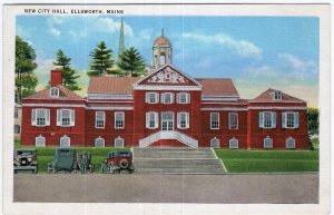 Ellsworth, Maine, New City Hall