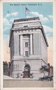 New Masonic Temple Washington D C 1921