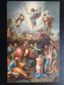 Religious: DIE HIMMELFAHRT CHRISTI c1910 - By Stengel & Co No.29811