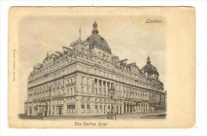 The Carlton Hotel, London, England, UK, 1900-1910s