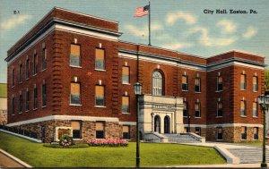 Pennsylvania Easton City Hall 1945