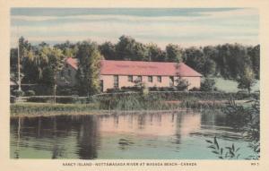WASAGA BEACH , Ontario , Canada , 1930s ; Nancy Island