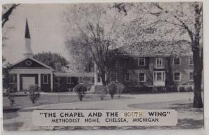 Chapel & South Wing, Methodist Home, Chelsea MI