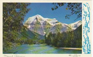 Canada Alberta Mount Robson