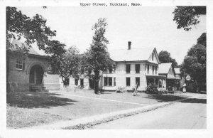 Buckland Massachusetts residential area Upper Street antique pc ZA441722