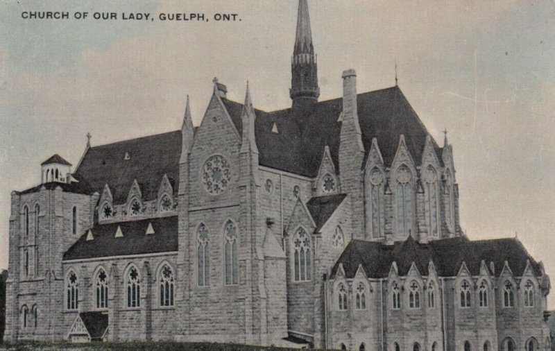 GUELPH, Ontario, 1900-10s ;  Church of Our Lady # 2