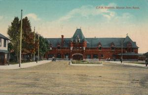 MOOSE JAW , Saskatchewan , Canada , 1909 ; C.P.R. Station