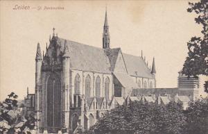 Netherlands Leiden Saint Pankraskerk
