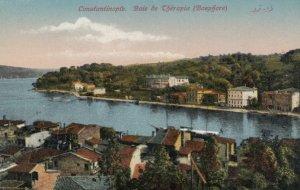 CONSTANTINOPLE, Turkey, 1900-10s; Baie de Therapia ( Bosphore)