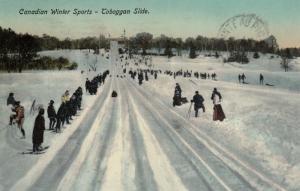 Canadian Winter Sports : Toboggan Slide , 00-10s