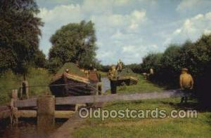 Canal Boats Banbury Ship Postcard Postcards  Canal Boats Banbury