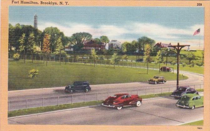 New York City Brooklyn Fort Hamilton