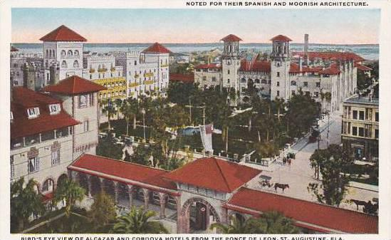 Florida Saint Augustine Noted For Their Spanish And Moorish Architecture Bird...