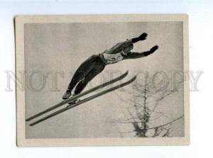 166963 VII Olympic MAX BOLKART ski jumper CIGARETTE card