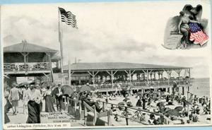 NJ - Ocean Grove, Ross Pavilion & Boardwalk
