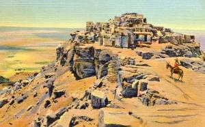 NM - The Mesa & Old Walpi