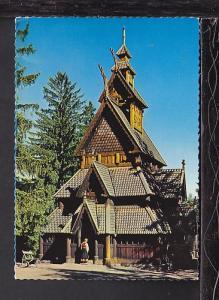 Norsk Folkemuseum,Oslo,Norway Postcard BIN