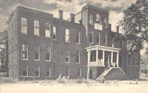 The City Hospital, Brunswick, Georgia 1909 Vintage Postcard