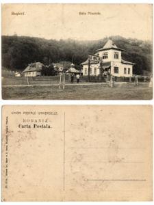 CPA BUSTENI Baile Minerale. ROMANIA (503382)