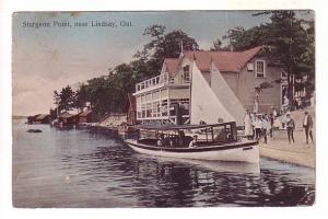 Boats House, Sturgeon Point near Lindsay, Ontario, Copp Clark