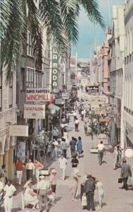 Shopping Mall in Heerenstraat , CURACAO , N.A. , 50-60s