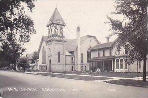 Wisconsin Edgerton M E Church