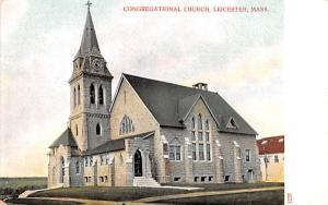 Congregationl ChurchLeicester, Massachusetts
