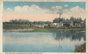 CLAYTON , Missouri , 00-10s ; Skating Pond, Chaminade College