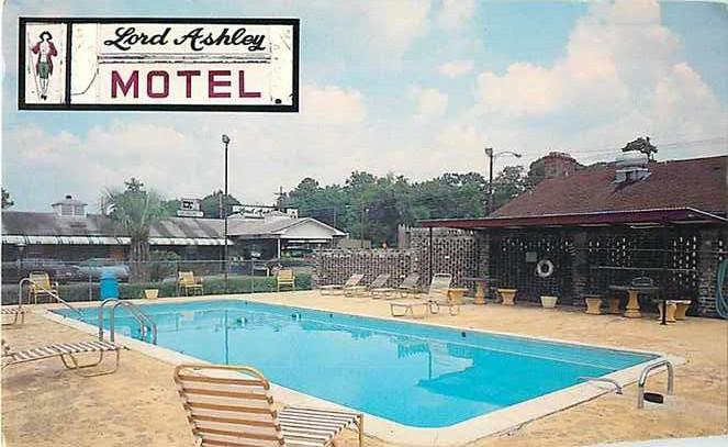 Lord Ashley Motel Charleston South Carolina SC, 1501 Savanna Hwy, Chrome