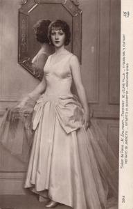 CPA Salon de Paris 5912 M. EHLINGER - PORTRAIT DE JEUNE FILLE (217771)