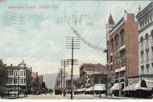OGDEN , Utah, 1909 ; Washington Avenue