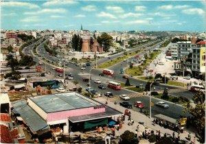 CPM AK Istanbul ve Güzellikleri - Aksaray - Square Scene TURKEY (850278)