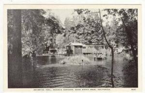 Swimming Pool, Sequoia Gardens, Santa Cruz , California,  1910-30s