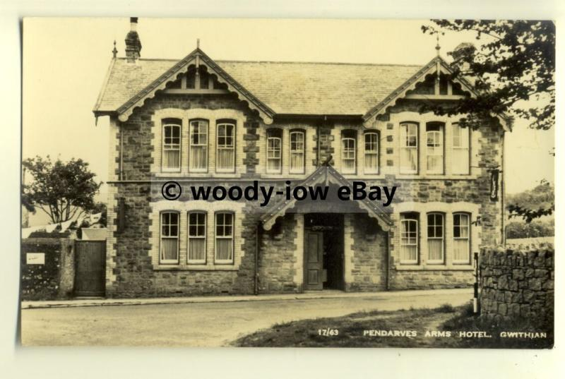 tp8197 - Cornwall - The Pendarves Arms Hotel, in Gwithian  - Postcard