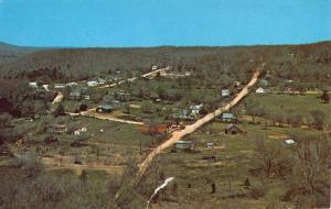 Gilbert Arkansas Birdseye View Of City Vintage Postcard K90891