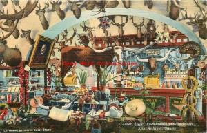 TX, San Antonio, Texas, Buckhorn Curio Museum, Postmark 1949, Curteich