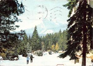 Slovakia Vysoke Tatry - Slavskovsky stit (2452 m) winter 1969