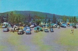 Plage Germain Ltee, Camping, Lac St Joseph, Quebec, Canada, PU-1965
