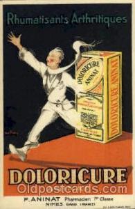Doloricure Advertising Postcard Post Card Unused