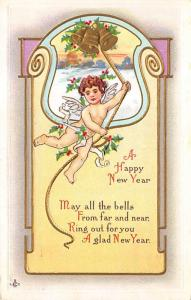New Years Day Postcards Old Vintage Antique Post Cards 1912