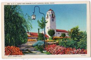 O.S.L.Depot, Howard Platt Garden, Boise ID