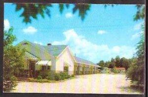PA East Stroudsburg Werrys Motel 1958